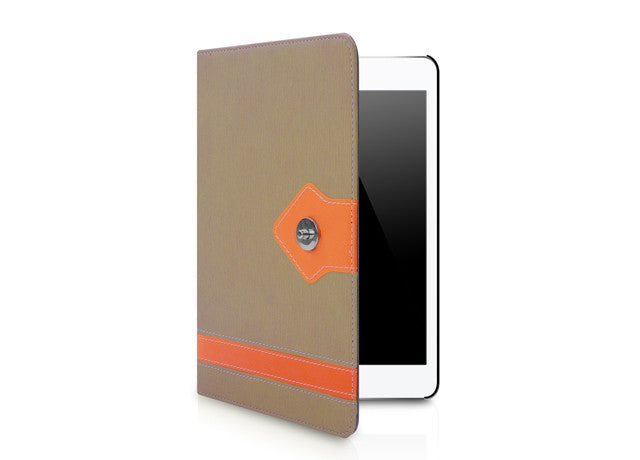 Manuscript Series for iPad mini Case - Brown
