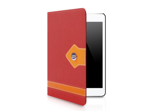 Manuscript Series for iPad mini Case - Red