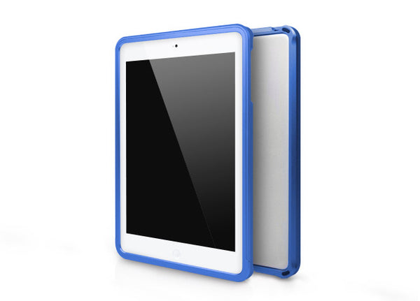 Metallic Bumper Series for iPad mini Case - Blue