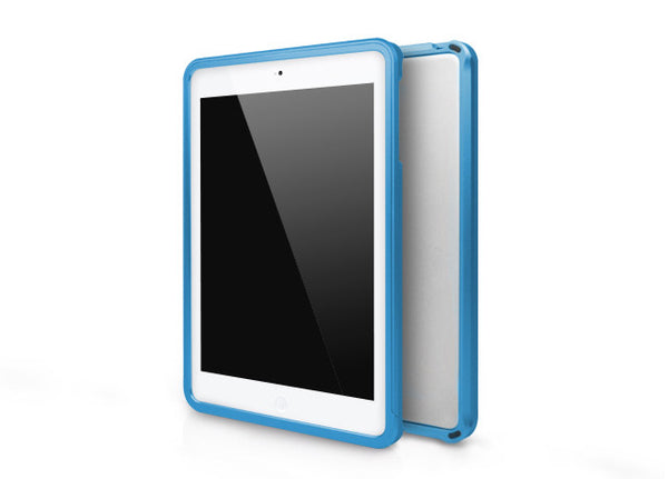 Metallic Bumper Series for iPad mini Case - Sky Blue