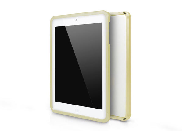 Metallic Bumper Series for iPad mini Case - Gold