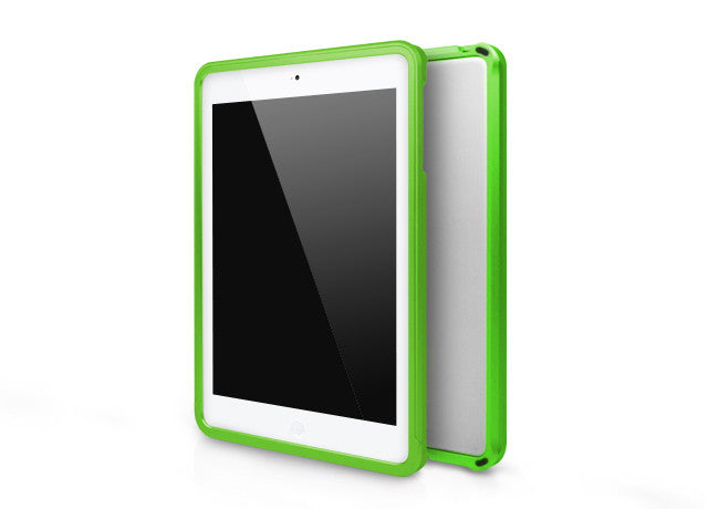 Metallic Bumper Series for iPad mini Case - Green