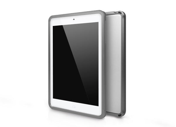 Metallic Bumper Series for iPad mini Case - Grey