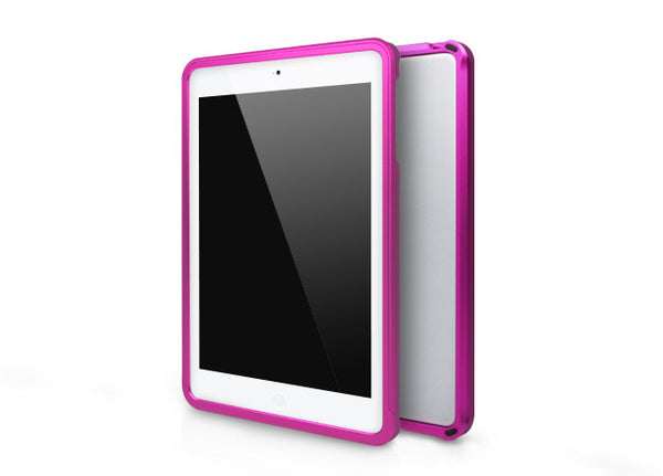 Metallic Bumper Series for iPad mini Case - Magenta