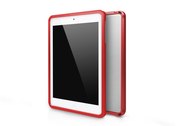 Metallic Bumper Series for iPad mini Case - Red