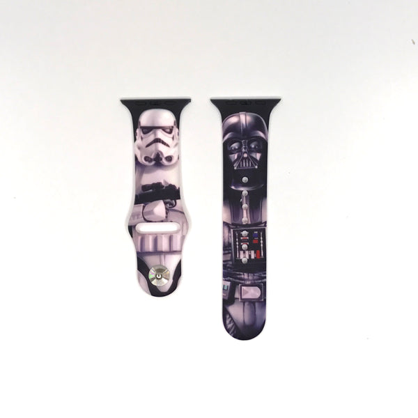 Authentic Disneyland Disney Star Wars Black 42mm Apple Watch Band