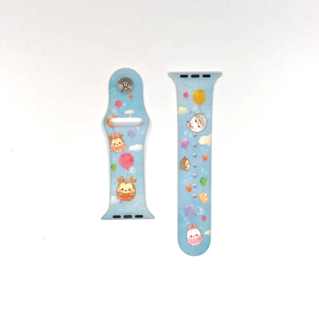 Authentic Disneyland Disney ufufy blue 42mm 44mm Apple Watch Band