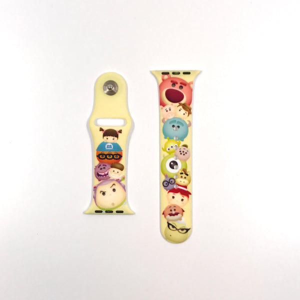 Authentic Disneyland Disney Tsum Tsum yellow 42mm Apple Watch Band