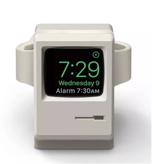Mac classic lookalike Apple Watch dock
