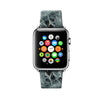 Custom Apple Watch Strap Faux Charcoal Marble  38mm / 40mm  , 42mm / 44mm