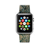 Custom Apple Watch Strap Vintage Floral Pattern 38 mm 42 mm