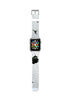 Custom Apple Watch Strap Art Break White  38mm / 40mm  , 42mm / 44mm