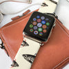 Custom Apple Watch Strap Fish Brown pattern  38mm / 40mm  , 42mm / 44mm