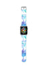 Custom Apple Watch Strap Art Water Brush Geometric 38 mm 42 mm