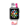 Custom Apple Watch Strap Abstract Art Water Brush 38 mm 42 mm