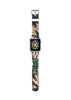Custom Apple Watch Strap Honolulu Tree pattern  38mm / 40mm  , 42mm / 44mm