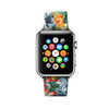 Colorful Floral Pattern Apple Watch Strap Band 38 42 mm | Ultra-case.com