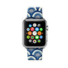 Custom Apple Watch Strap Art Japan Waves pattern 38 mm 42 mm