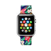 Custom Apple Watch Strap Hawaii Honolulu Flowers pattern 38 mm 42 mm