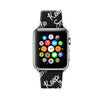 Custom Apple Watch Strap Keep Smile pattern  38mm / 40mm  , 42mm / 44mm