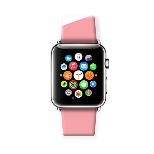 Custom Apple Watch Strap Pink Geometric  38mm / 40mm  , 42mm / 44mm