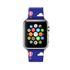 Custom Apple Watch Strap Blue Sky Balloon  38mm / 40mm  , 42mm / 44mm