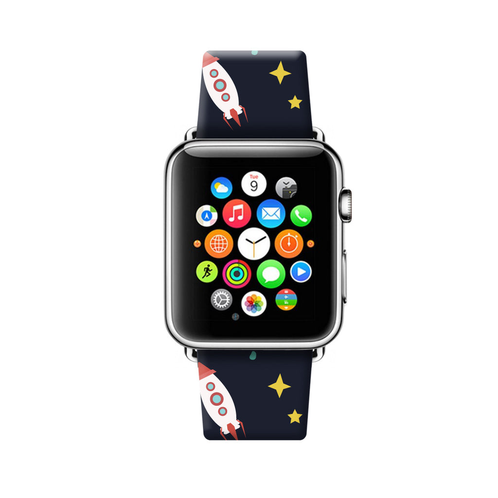 Custom Apple Watch Strap Space Planets 38 mm 42 mm