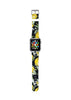 Custom Apple Watch Strap Lemon Tree Black 38 mm 42 mm