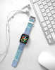 Mandala Blue Pattern Watch Band Strap for Apple Watch - 38 mm / 42 mm