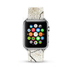 Abstract Wall Pattern Watch Band Strap for Apple Watch -  38mm / 40mm  , 42mm / 44mm