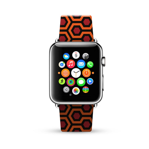 Iconic Carpet Pattern Watch Band Strap for Apple Watch -  38mm / 40mm  , 42mm / 44mm