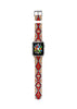 Navajo Pattern Indigo Red Tribal Pattern Watch Band Strap for Apple Watch - 38 mm / 42 mm