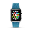 Wave Pattern Blue Watch Band Strap for Apple Watch -  38mm / 40mm  , 42mm / 44mm