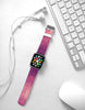 Wave Pattern Purple Watch Band Strap for Apple Watch -  38mm / 40mm  , 42mm / 44mm