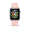 Pink Fancy Flowers pattern Watch Band Strap for Apple Watch - 38 mm / 42 mm
