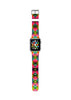 Geometric Art pattern Red Watch Band Strap for Apple Watch - 38 mm / 42 mm