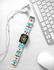 Colorful Navajo Tribal Pattern Watch Band Strap for Apple Watch -  38mm / 40mm  , 42mm / 44mm