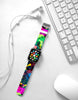 Abstract Art Vivid Pattern Watch Band Strap for Apple Watch - 38 mm / 42 mm