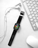 Pop art Words Black Pattern Watch Band Strap for Apple Watch - 38 mm / 42 mm