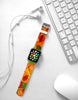 Leaves Autumn Falling Pattern Watch Band Strap for Apple Watch -  38mm / 40mm  , 42mm / 44mm
