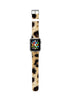 Brown Leopard Pattern Watch Band Strap for Apple Watch - 38 mm / 42 mm