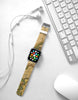 Vintage Map Pattern Color Watch Band Strap for Apple Watch -  38mm / 40mm  , 42mm / 44mm