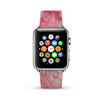 Faux Pink Marble Printed Watch Band Strap for Apple Watch - 38 mm / 42 mm