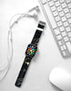 Faux Black Marble Printed Watch Band Strap for Apple Watch - 38 mm / 42 mm