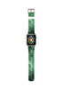 Faux Green Marble Printed Watch Band Strap for Apple Watch - 38 mm / 42 mm