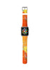 Water paint abstract color Orange 13 Watch Band Strap for Apple Watch - 38 mm / 42 mm