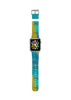 Abstract Blue Water Painting Watch Band Strap for Apple Watch - 38 mm / 42 mm