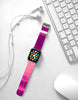 Abstract Hot Pink Water Painting Watch Band Strap for Apple Watch - 38 mm / 42 mm