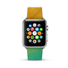 Abstract Rainbow Water Painting Watch Band Strap for Apple Watch - 38 mm / 42 mm