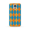 Sasmung Galaxy Case Argyle Blue | Ultra-case.com